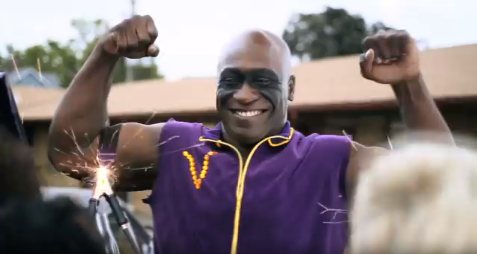 Photo: John Randle - Minnesota Lottery Commercial