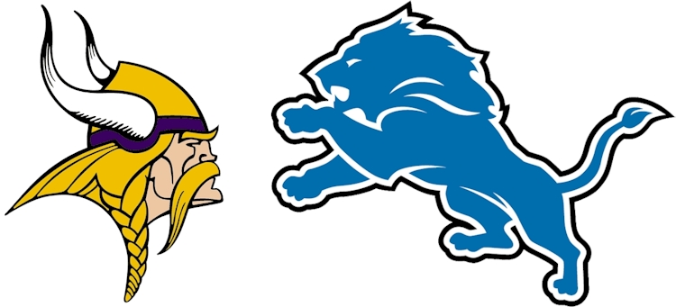 Minnesota Vikings vs Detroit Lions