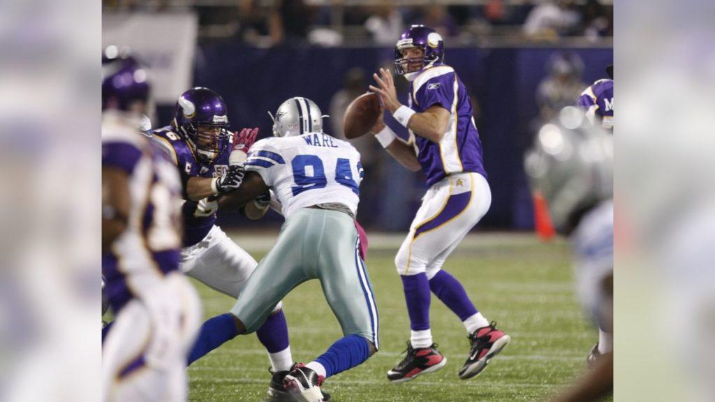 Photo: Brett Favre vs Cowboys