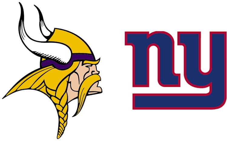 Vikings vs Giants