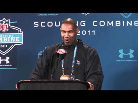 Leslie Frazier's & Rick Spielman's Combine Press Conferences