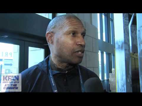 Leslie Frazier Talks About The Interview Process At The NFL Combine