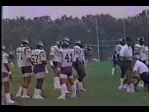 1986 Minnesota Vikings Training Camp
