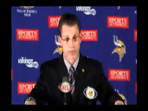 Rick Spielman: Christian Ponder Press Conference