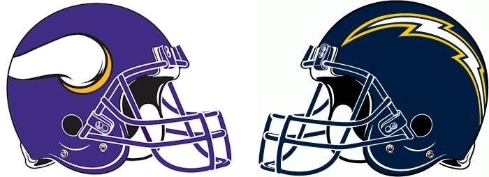 Minnesota Vikings Vs. San Diego Chargers