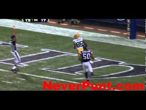 Vikings vs. Packers Highlights