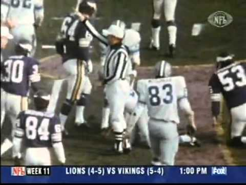 Vikings vs Lions, 1970