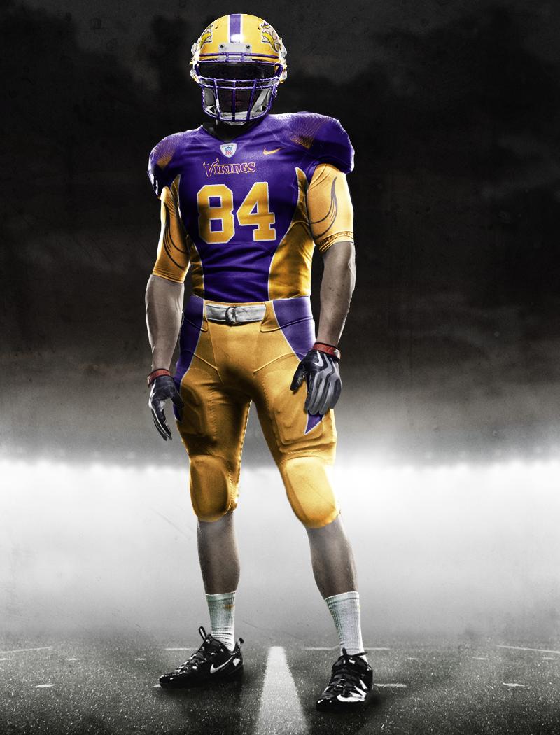 Illustration - New 2013 Vikings Nike Uniforms