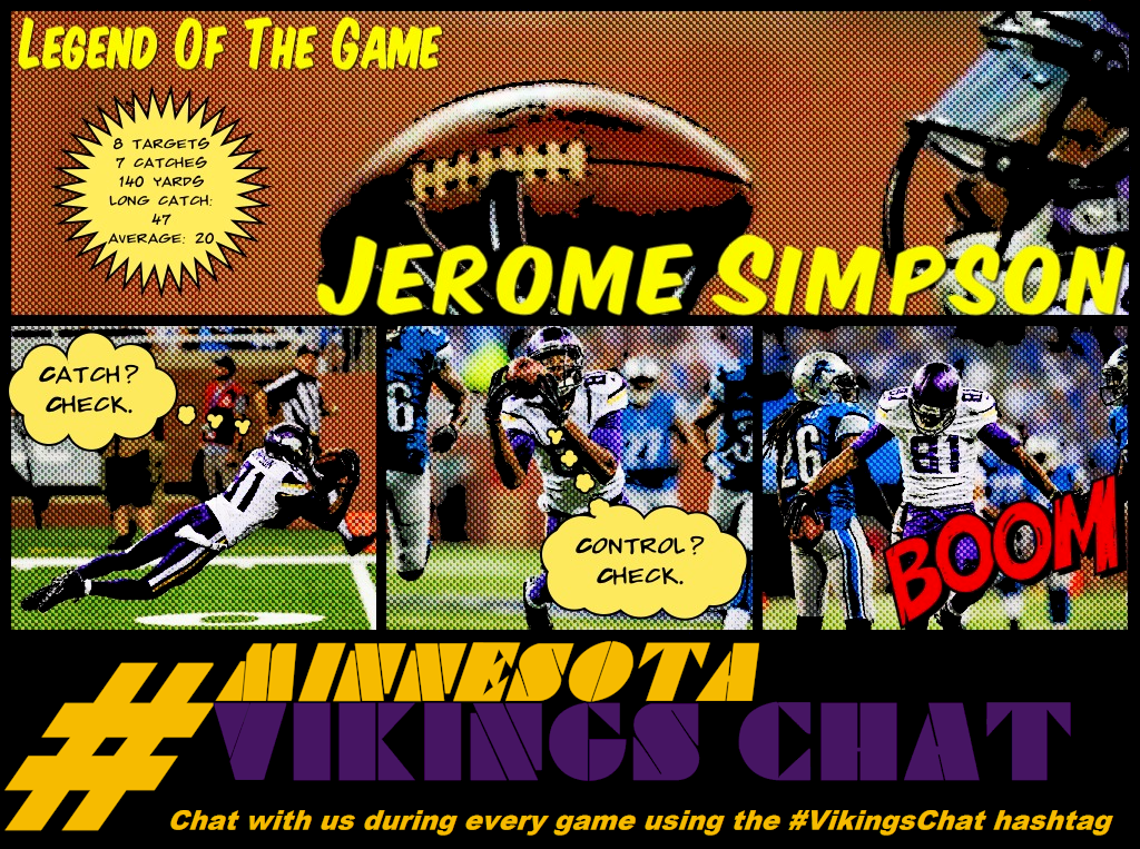 Infographic - Legend Of The Game: Jerome Simpson