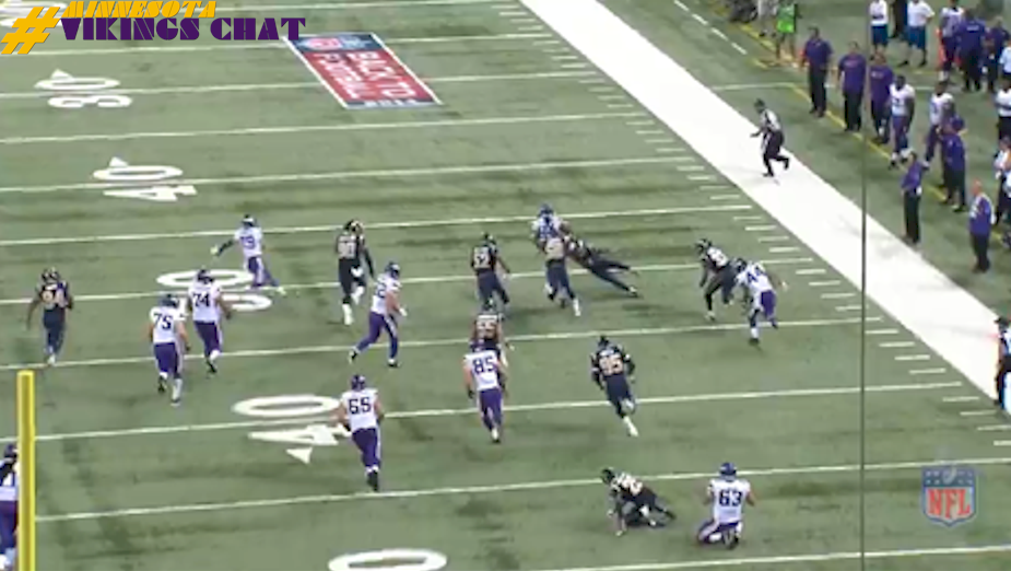 Cordarrelle Patterson 67-Yard Td vs Rams