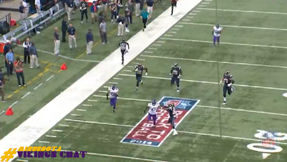 Harrison Smith 81 INT TD vs Rams