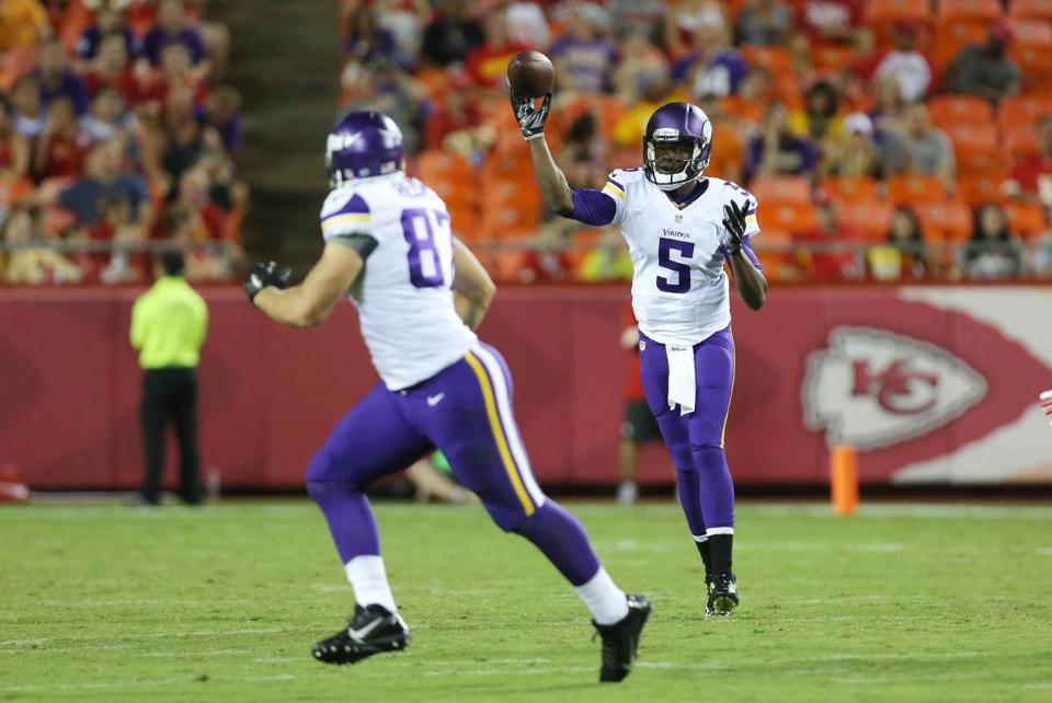 Teddy Bridgewater To Allen Reisner vs Chiefs