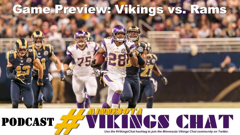 Vikings vs. Rams Preview – Episode 27