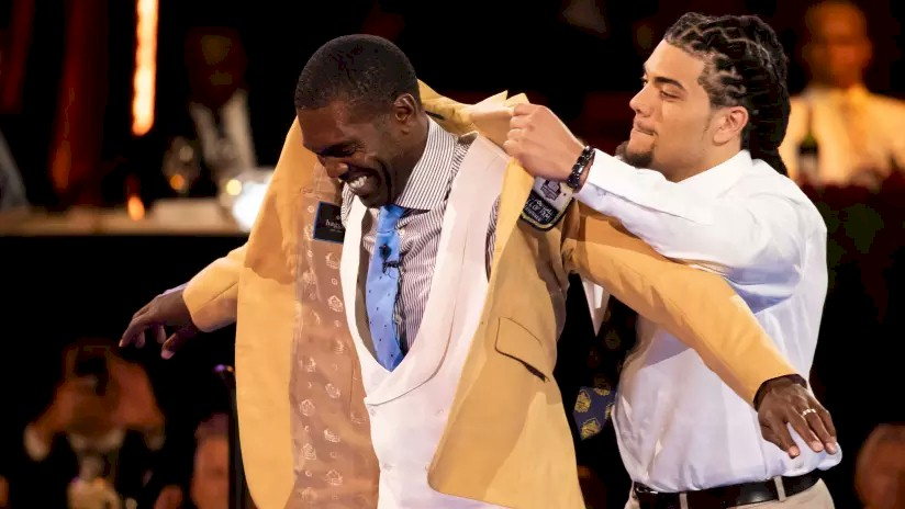 Randy Moss - Hall Of Fame Coat