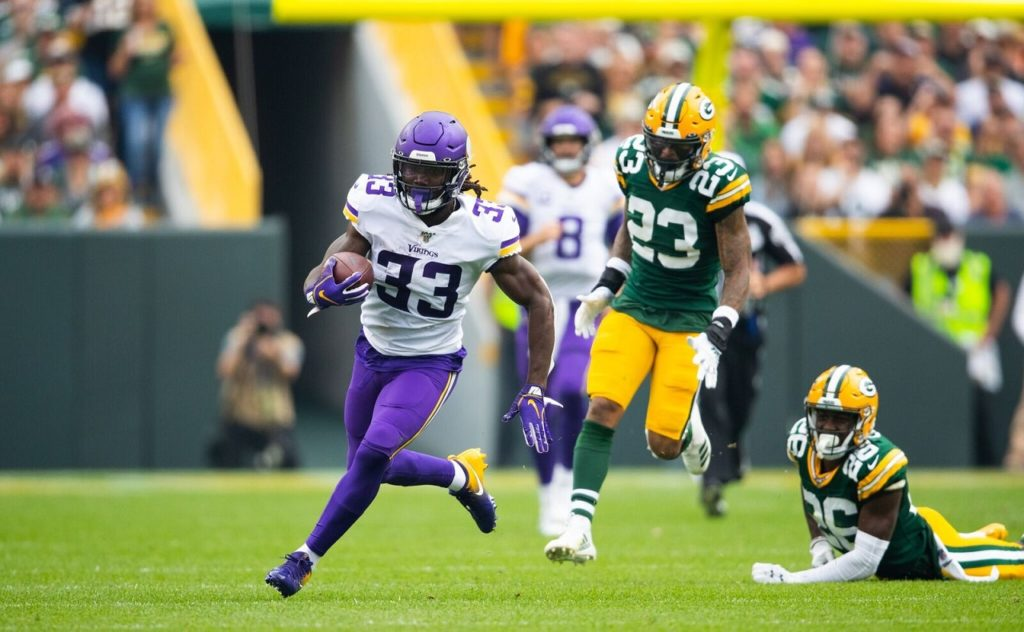 Photo: Dalvin Cook vs Green Bay Packers
