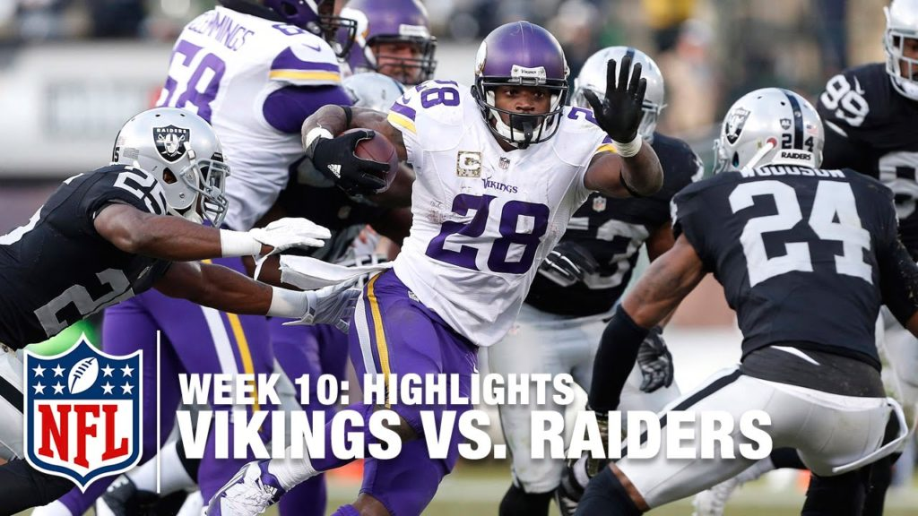 Photo: Minnesota Vikings vs. Oakland Raiders 11/15/2015