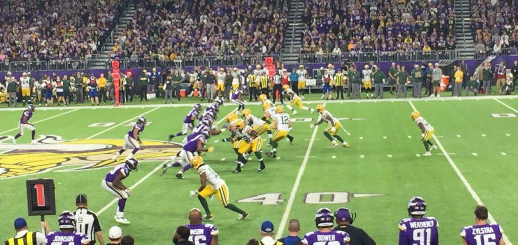 Photo: Packers at Vikings, 2018