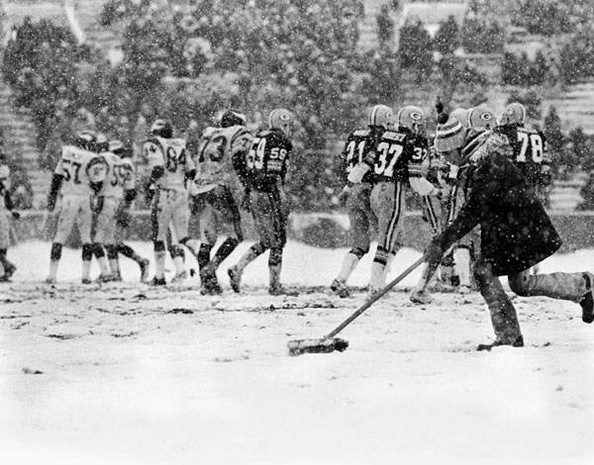 Photo: Vikings a Packers, 11/27/1977