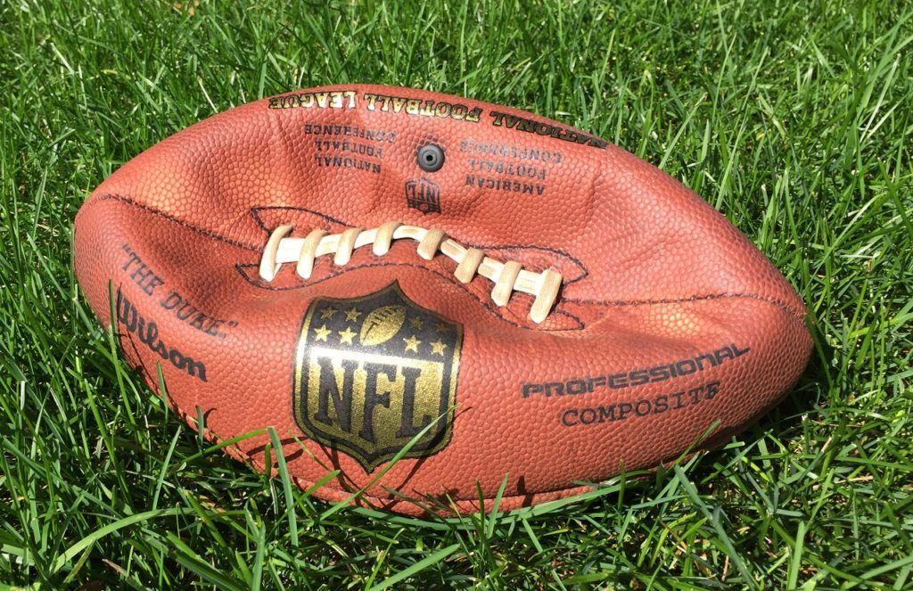 Photo: Deflated Football