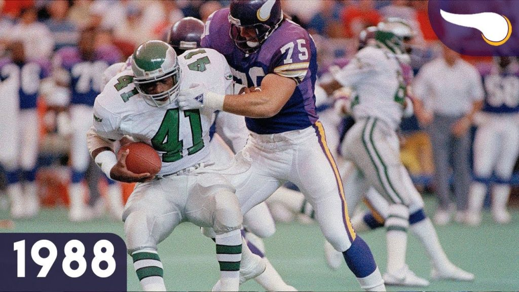 Photo: 1988 Eagles @ Vikings