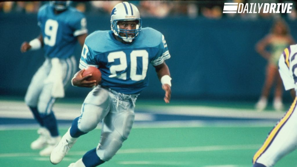 Photo: Barry Sanders vs Minnesota Vikings