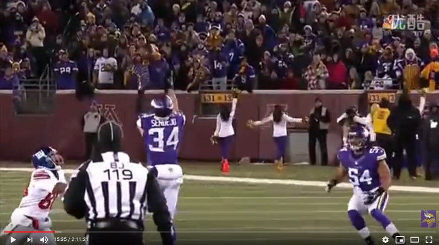 Vikings vs Giants - 2015