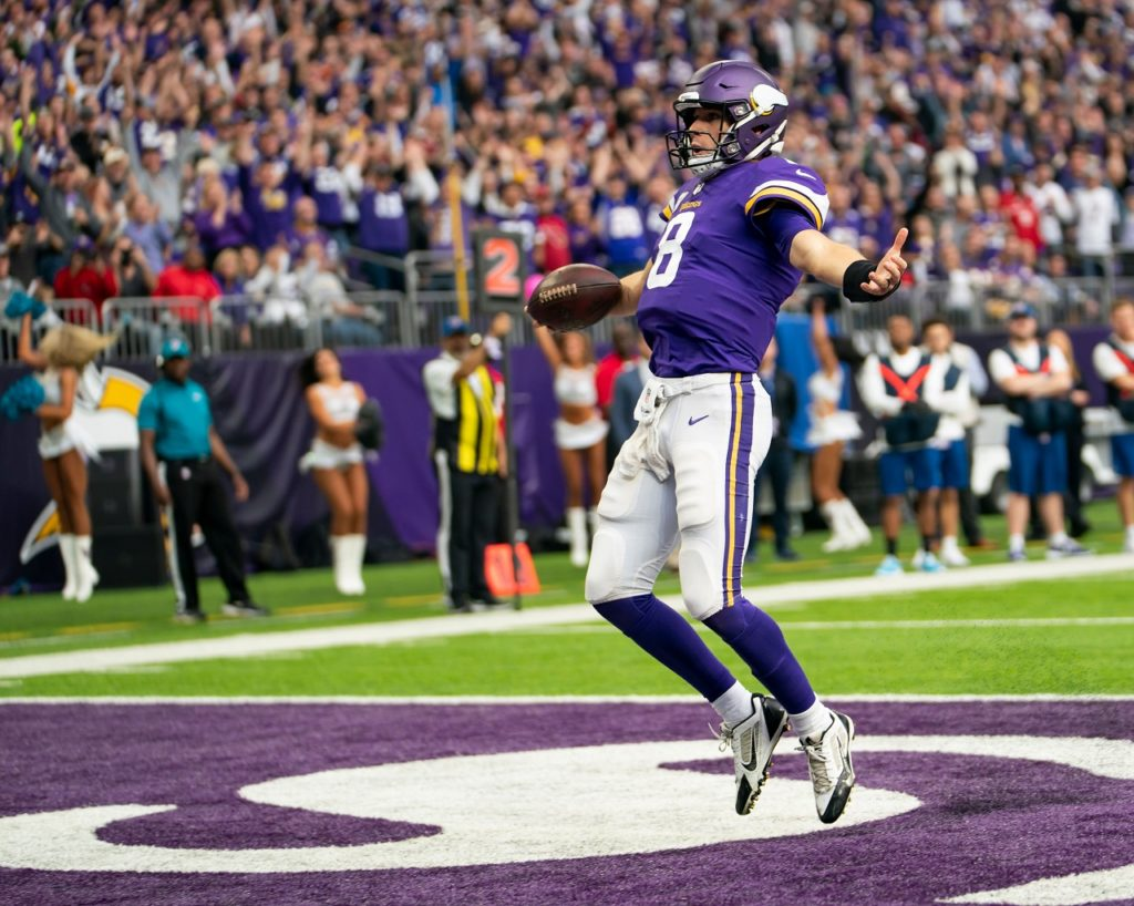 Photo: Kirk Cousins Touchdown Celebration