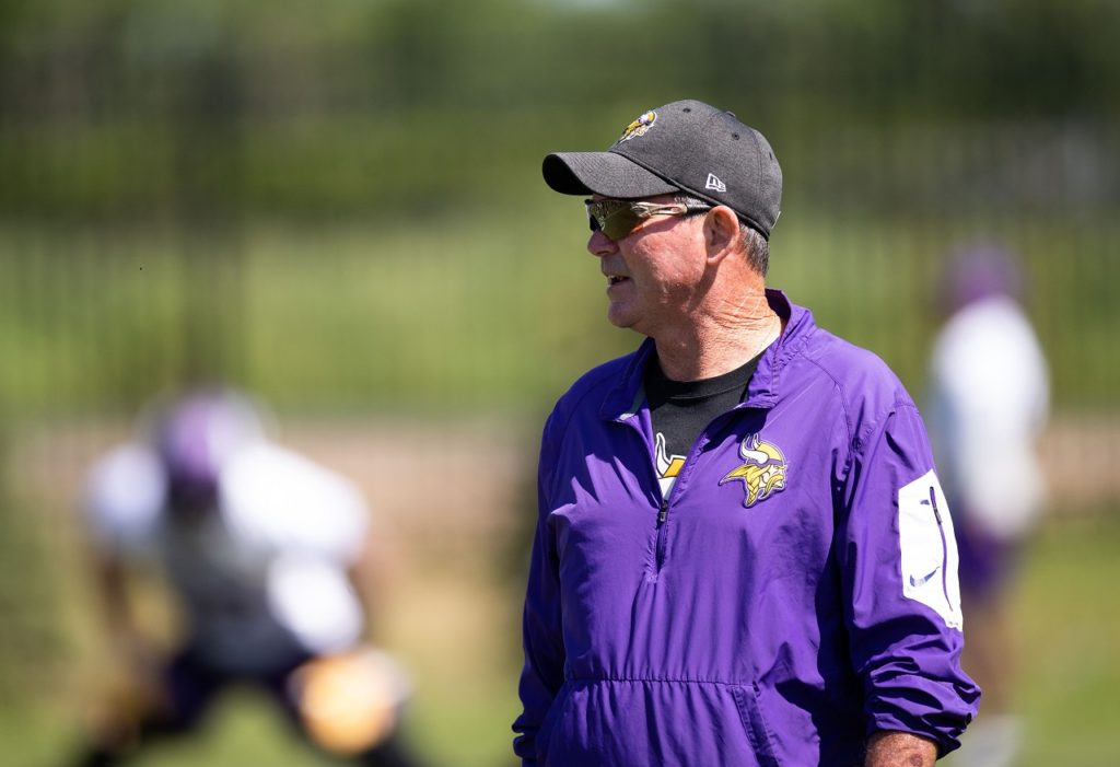 Photo: Mike Zimmer - Training Camp