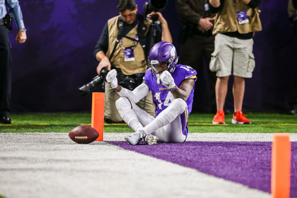 Photo: Stefon Diggs End Zone Celebration