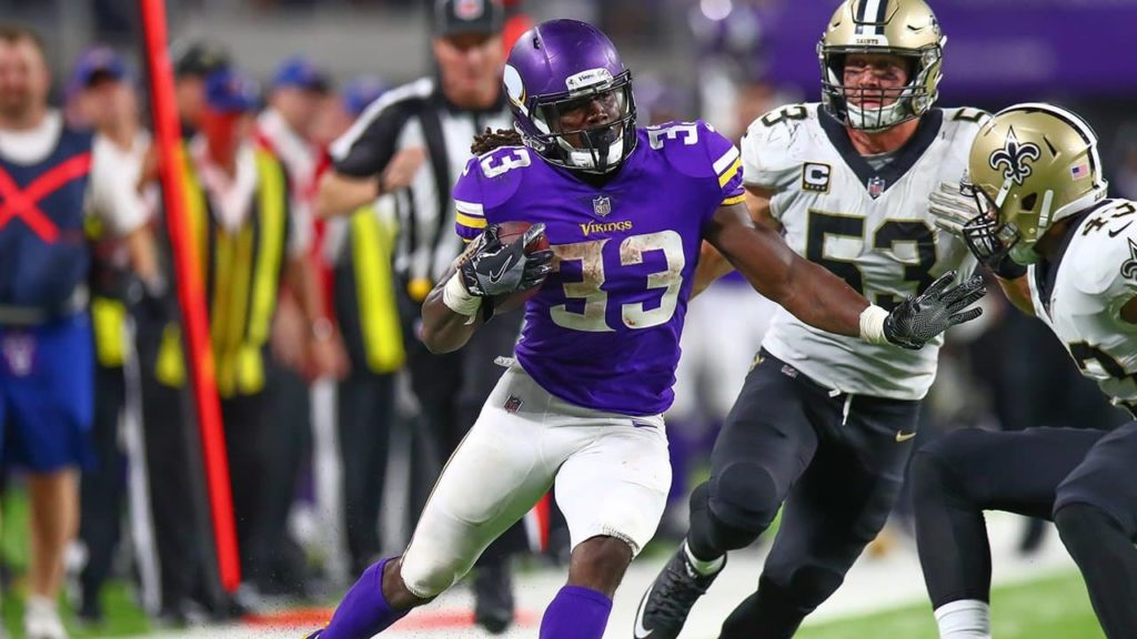 Photo: Dalvin Cook - Vikings vs Saints