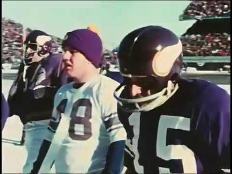 Photo: Vikings vs 49ers - 1970 NFC Divisional Playoffs