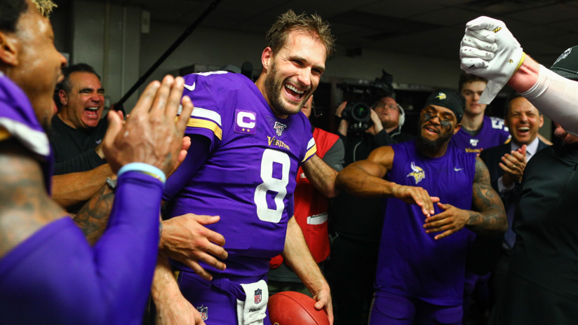 Photo: Vikings vs Saints Postgame Celebration