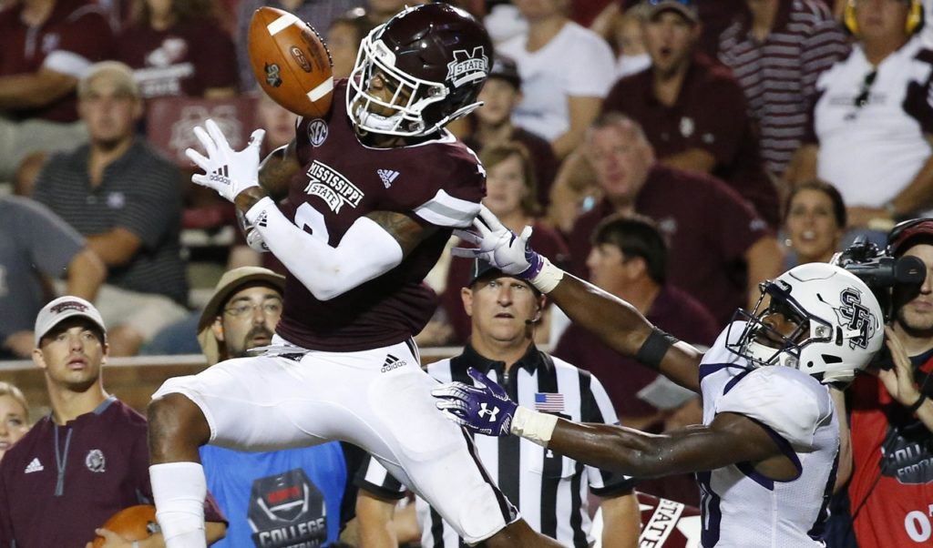 Photo of Mississippi State cornerback Cameron Dantzler